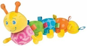 Taggies Mary Meyer Colours Toy, Caterpillar  - 10 inch