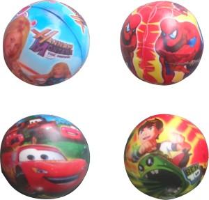 PTCMart PTCMART Kids Balls Set of 4  - 6 cm