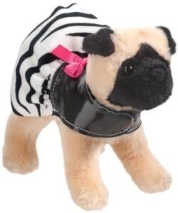 Douglas Toy S Dana Pug Plush Dog With Zebra Coat