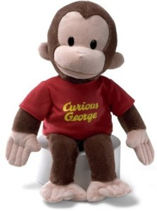 Gund Curious George Animal16 Inches  - 20 inch