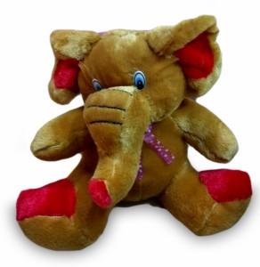 Cuddles Sitting Elephant  - 26 cm