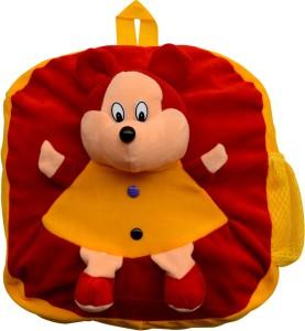 Funtastik Red Teddy Design Kids Bag  - 40 cm