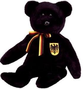 Ty Beanie Ba Freiherr Von Schwarz The Bear (Germany Exclusive)