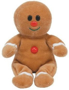 Ty Sweeter Jingle Beanie Ba Gingerbread Man