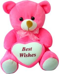 Sana Cuddly Bear With Sweet Heart  - 28 cm