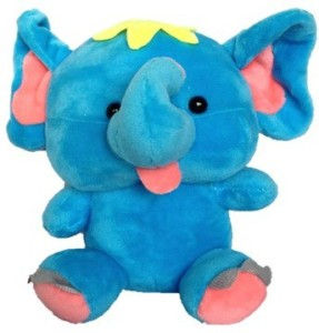 Chinmayi Small Elephant Soft Toy, Gift Smile To Your Kids  - 20 cm