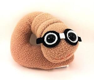 Flaky Friends Bookworm Plush Book Worm