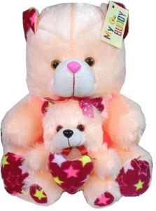 MYBUDDY sweet teddy with baby  - 50 cm