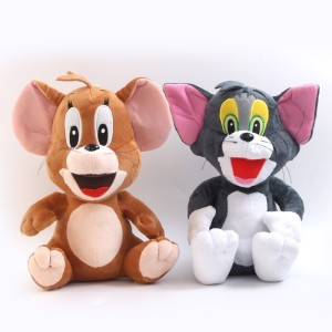Cuddles Tom And Jerry Combo  - 30 cm
