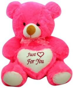 Prachi Cuddly Bear With Heart Cm35  - 35 cm