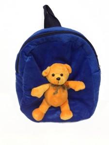ea8dc5a06eb Soft Buddies Bag with Animal - Bear - 10.4 inch ( Blue )