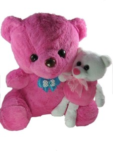 Tickles Me and My Pinky Teddy  - 11 inch