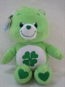 fd444f684aa Play Along Care Bears 10 Plush Good Luck Bear Doll Green Best Price ...