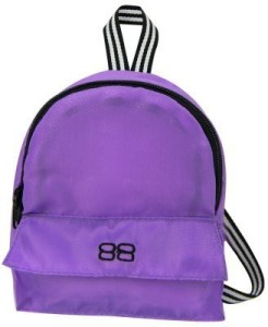 Sophia's 18 Inch Doll Backpack, Doll Size for Plush Animals ,Zippered Opening and Pocket in Purple  - 25 inch