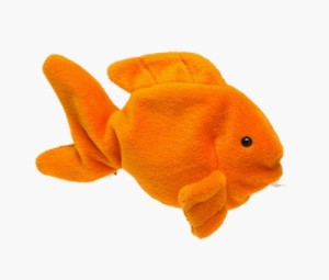 TY Platinum Edition Collectors Card Ty Beanie Babies Goldie The Goldfish