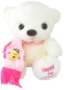 Tickles Charming Muffler Teddy  - 28 cm