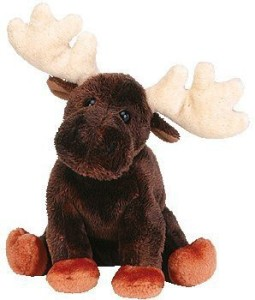 Ty Beanie Ba Zeus The Moose
