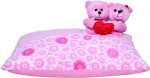 Fabelhaft A G Collection Pink Teddy Cushion  - 40 cm