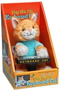 ThinkGeek Keyboard Cat Animatronic Plush