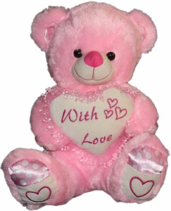 Cuddles With Love Teddy  - 40 cm