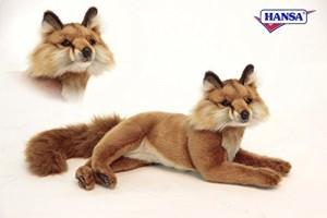 Hansa 6087 Red Fox Laying 155 In L