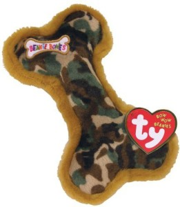 Ty Bow Wow Beanies Camouflage The Small Bone (Camo Color