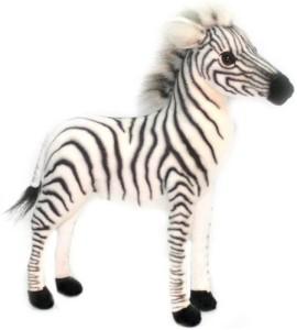 Hansa Ba Zebra Plush 12