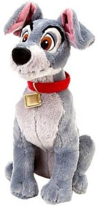 Disney Lady and the Tramp: Tramp Plush -- 16 H  - 20 inch