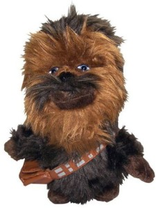 Comic Images Super Deformed Chewbacca Plush