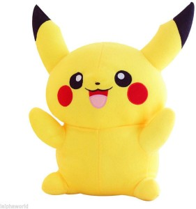 Tickles Pikachu Pokemon  - 17 cm