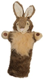 The Puppet Company Wild Rabbit Long Sleeved Glove Puppet