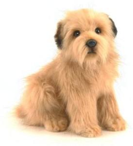 Hansa Norfolk Terrier Puppy Plush Animal