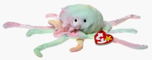 Ty Beanie Babies Goochy The Jellyfish