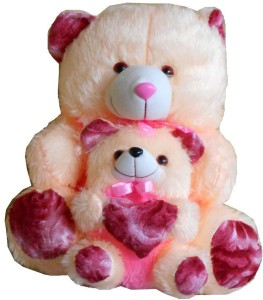 MYBUDDY Mom Loves Baby Teddy  - 50 cm
