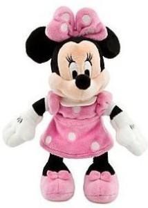 Disney Minnie Mouse Mini Bean Bag Plush  - 9.5 inch