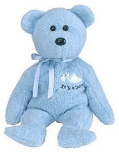TY Beanie Babies Boy The Bear