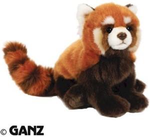 Ganz Webkinz Endangered Red Panda With Trading Cards