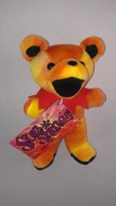 GRATEFUL DEAD PLUSH BEAR Grateful Dead Bear SunshineYellow