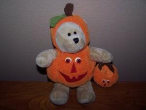 Starbucks Bearista Bear Pumpkin Bear 2008 77Th Edition