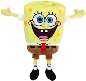 Spongebob Squarepants Ty Beanie Babies Spongebob Best Day Ever