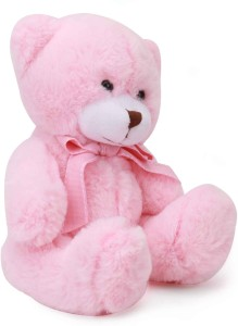 1ca89360384b Starwalk Bear Plush with Bow Baby Pink Colour 20 cm 20 cm Pink Best ...