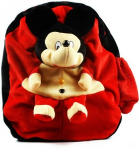 Blue Tree Soft Mickey School Bag  - 35 cm