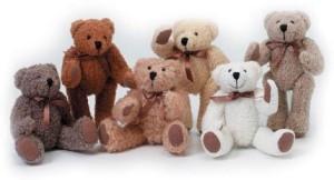 Darice Bulk Buy Bulk Buy Darice Diy Crafts Bear Fully Jointed Assorted 6