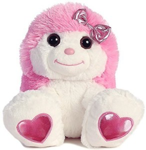 Aurora World Taddle Toes Sweet Pink Hedgie Plush