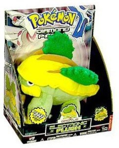 Pokemon Diamond & Pearl Large Grotle Electronic Plush With Sound