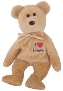 Ty Beanie Babies London The Bear (London Exclusive)