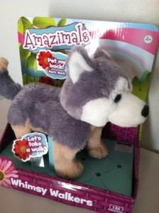Blip Toys Amazimals Whimsy Walkers Plush Husky Dog With Sound