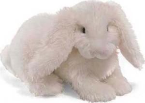 Fluffer Bunny Gund Plush White