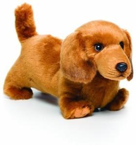 Nat and Jules plush dachshund small