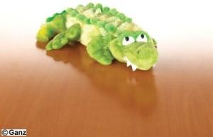 Webkinz Plush Animal Crocodile